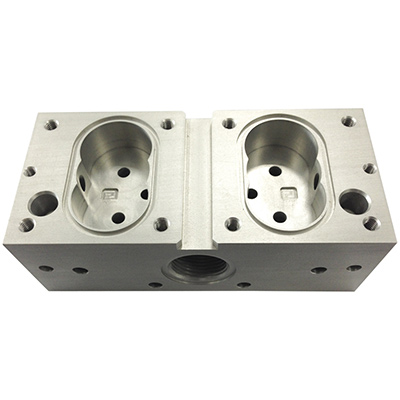 Stainless Steel Machining Housing for Hydraulic Accessories
